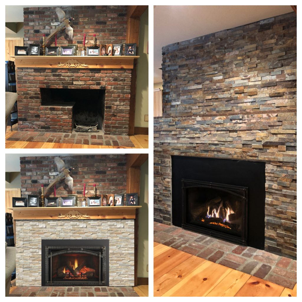 fire place remodeling